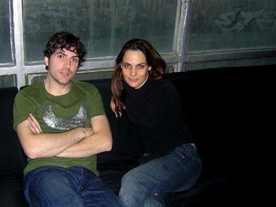 Martin Pelland y Valerie Jodoin-Keaton