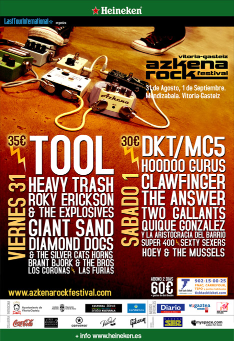Photo of Azkena Rock Festival 2007 (Vitoria, 31-08,1-09-07)