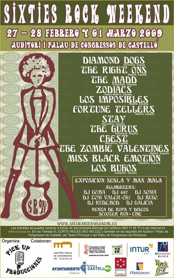 Photo of Sixties Rock Weekend 2009