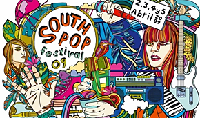 Photo of South Pop 2009: cartel