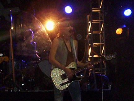 Photo of The Pretenders (Teatro de la Axarquía, Córdoba, 03-07-2009)