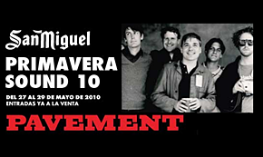 Photo of Pavement al Primavera Sound 2010