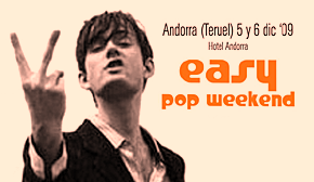 Photo of Easy Pop Weekend 2009: cartel por días