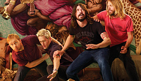 Photo of Foo Fighters en la lista de ventas