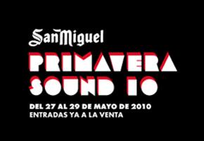 Photo of Nuevos artistas confirmados para el Primavera Sound 2010