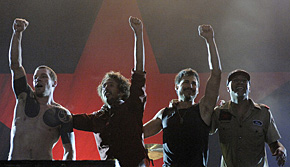 Photo of Rage Against The Machine en el nº 1 en Reino Unido