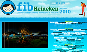 Photo of FIB 2010: cartel por días