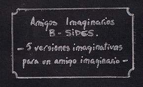 Photo of B-Sides de Amigos Imaginarios