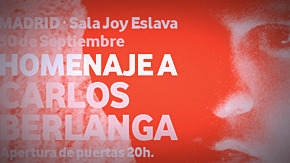 Homenaje a Carlos Berlanga