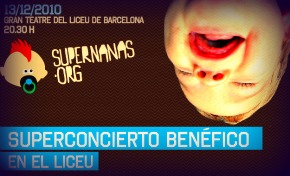 Concieto Benéfico Supernanas.org