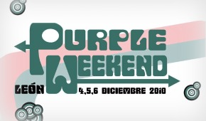 Photo of Purple Weekend 2010: cartel por días