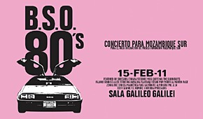 BSO 80s: concierto para Mozambique Sur
