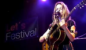 Christina Rosenvinge en Lets Festival 2011