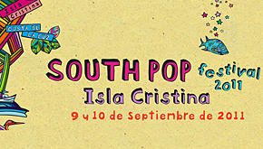 South Pop Isla Cristina 2011: primeros nombres