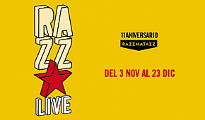 Photo of 11º aniversario Sala Razzmatazz: programación por días