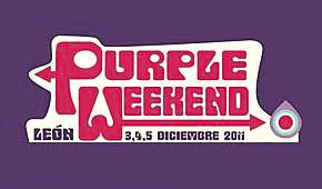 Photo of Purple Weekend 2011: cartel