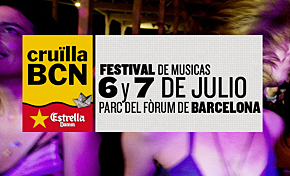 Photo of Cruïlla Barcelona 2012: cartel