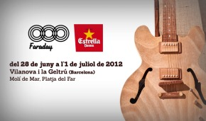 Photo of Faraday 2012: cartel completo