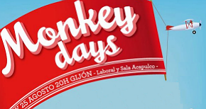 Monkey Days 2012: cartel