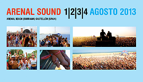 Photo of Arenal Sound 2013 tendrá lugar del 1 al 4 de agosto en Burriana