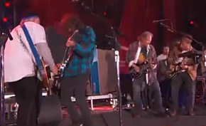 Instantáneas: Neil Young & Crazy Horse +Foo Fighters+ The Black Keys+Band of Horses (Nueva York, 29/09/12)