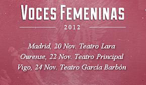 Photo of Voces femeninas 2012: cartel