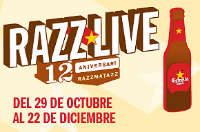 Photo of XXII Aniversario de Razzmatazz: cartel por días