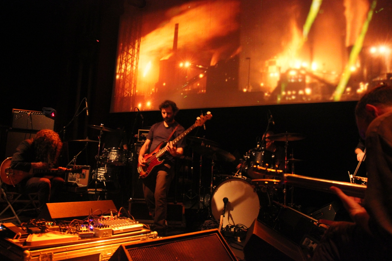 Photo of Godspeed You! Black Emperor (Apolo, Barcelona, 31-10-2012)