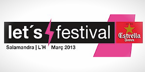 Let´s Festival 2013: cartel
