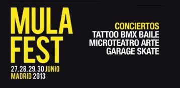 Photo of Mulafest 2013: artistas confirmados