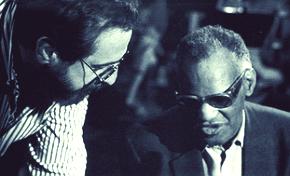 Phil Ramone y Ray Charles