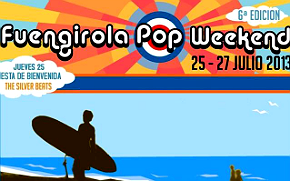 Photo of Cartel del Fuengirola Pop Weekend 2013 (crowdfunding)