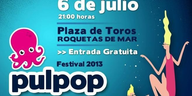Pulpop 2013: cartel