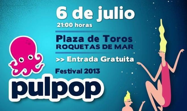 Photo of Pulpop 2013: cartel