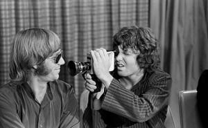 Ray Manzarek y Jim Morrison