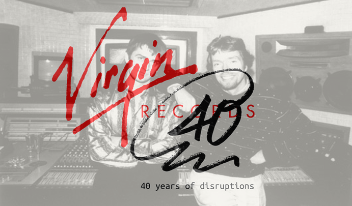 Photo of Los 40 años de Virgin Records