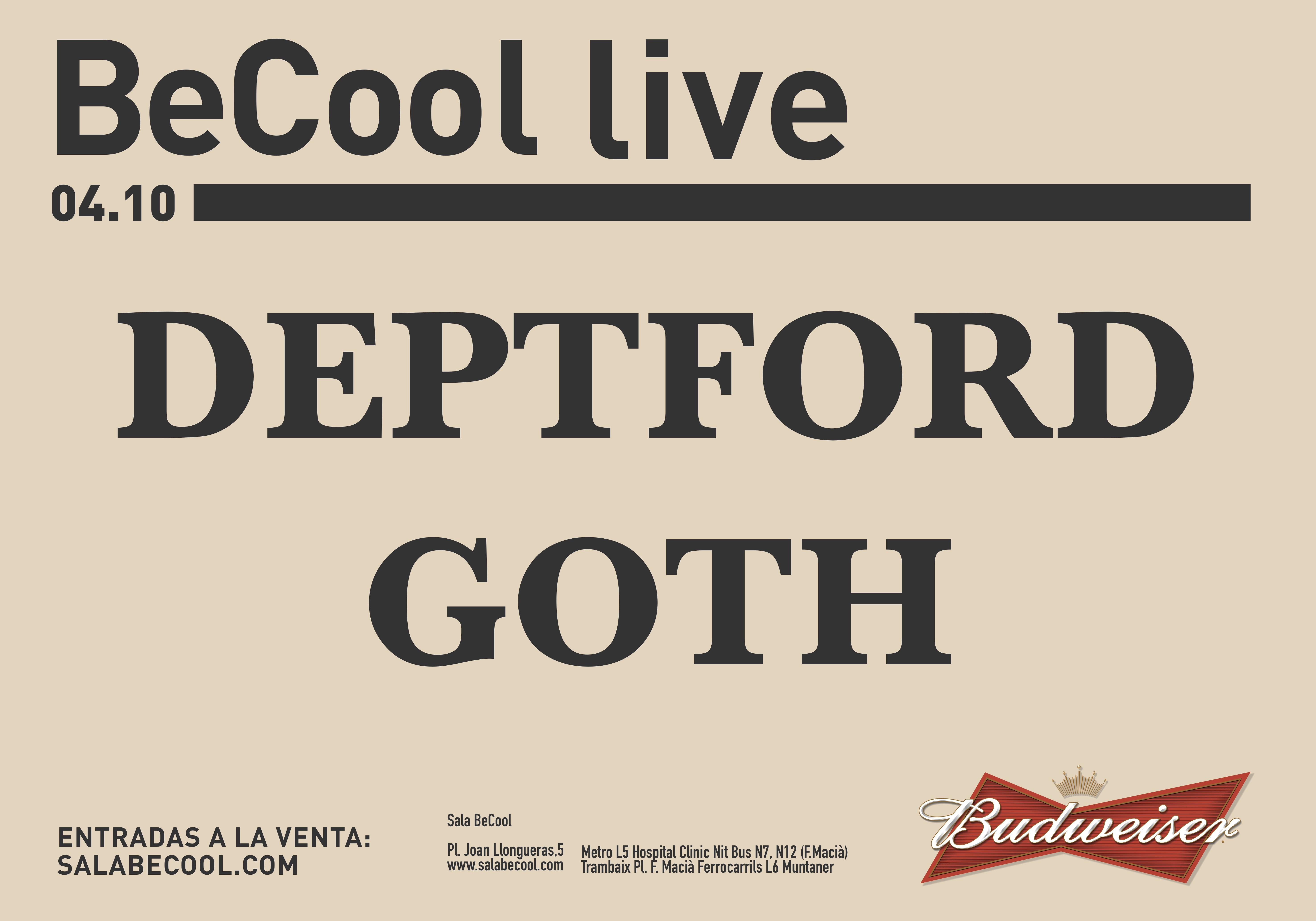 DEPTFORD GOTH baja
