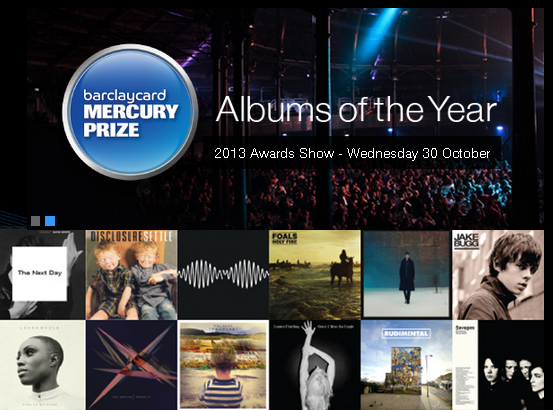 Photo of Nominados al Mercury Prize 2013