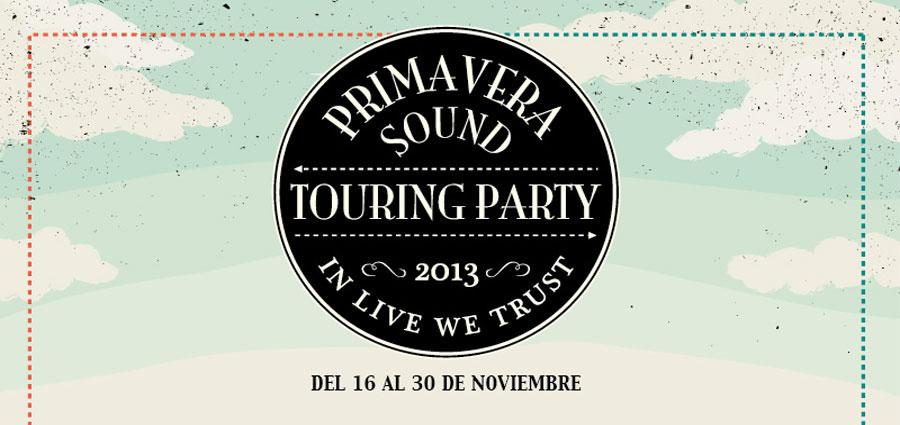 Photo of Se presenta el Primavera Sound Touring Party