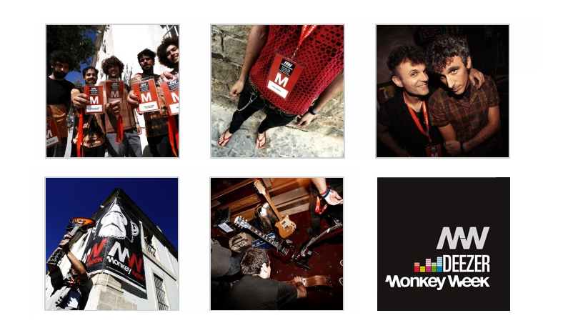 Photo of Deezer Monkey Week 2013 cierra su cartel
