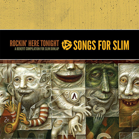Photo of The Replacements, Jeff Tweedy y Steve Earle en el disco benéfico Songs for Slim