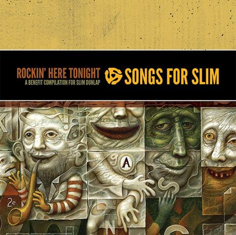 Photo of The Replacements, Jeff Tweedy y Steve Earle en el disco benéfico Songs for Slim
