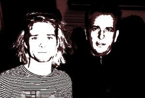 Kurt Cobain y Peter Gabriel