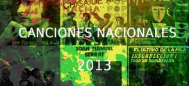 Mejores canciones nacionales 50-31 2013