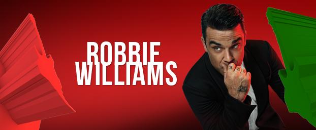 Photo of Robbie Williams al Rock in Rio Lisboa 2014