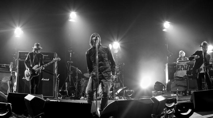 Photo of Beady Eye, de visita en 2014