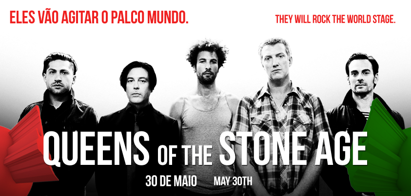 Photo of Queens of the Stone Age al Rock in Rio Lisboa 2014