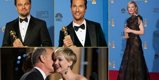 Photo of Globos de Oro 2014: ganadores