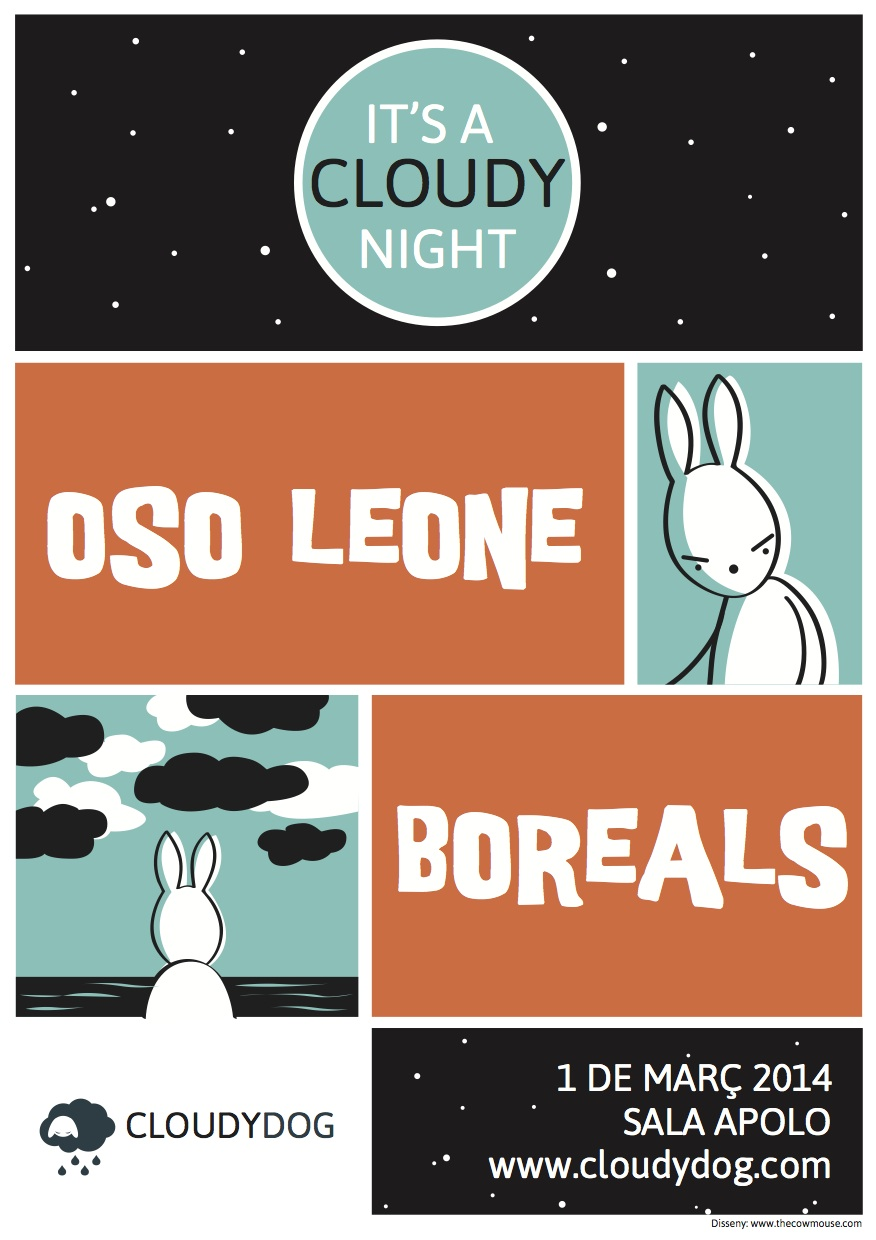 Photo of It's a Cloudy Night: Oso Leone y Boreals juntos en Apolo el 1 de marzo