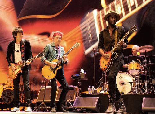 Photo of Gary Clark Jr en Rock in Rio Lisboa, el mismo día que The Rolling Stones